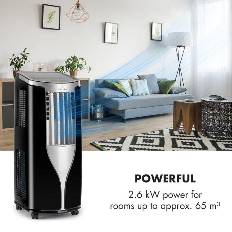 Klarstein New Breeze 7 dokáže vychladiť miestnosť do 65 m3