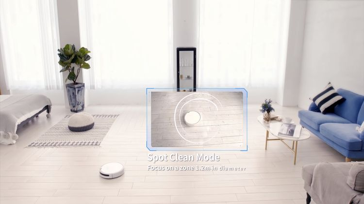 Xiaomi Roborock Xiaowa Lite vysávanie v priestore