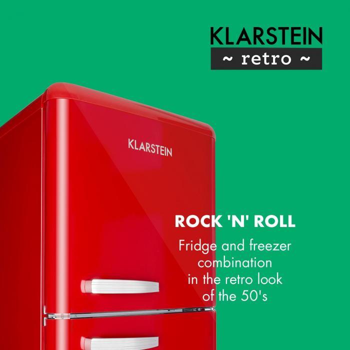 Retro model chladničky Klarstein Audrey