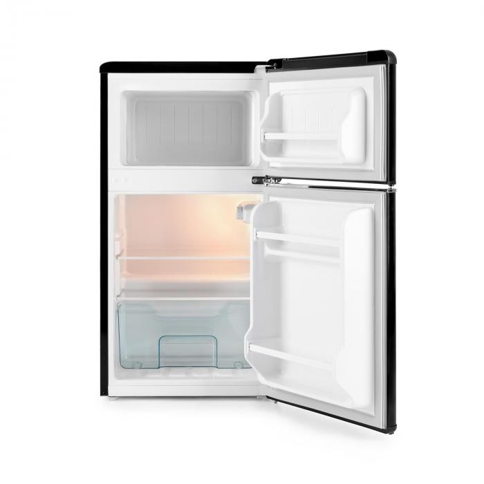 Klarstein Monroe Black - otvorená chladnička