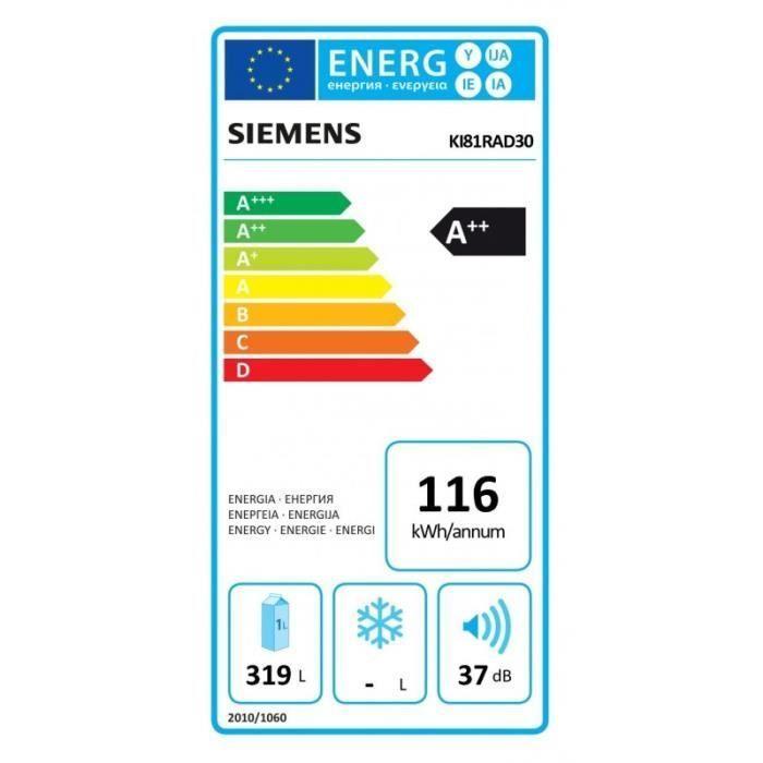 Siemens KI 81RAD30 energetický štítok