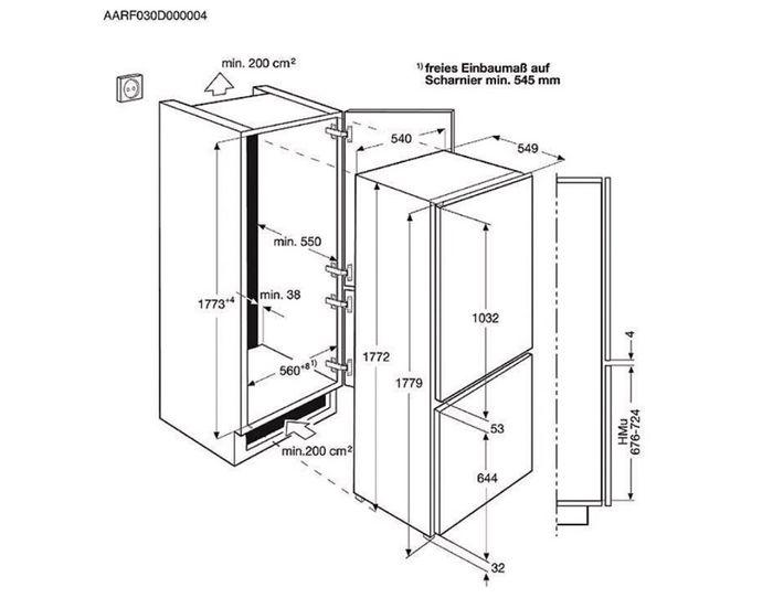 Electrolux ENN 2800AJW rozmery