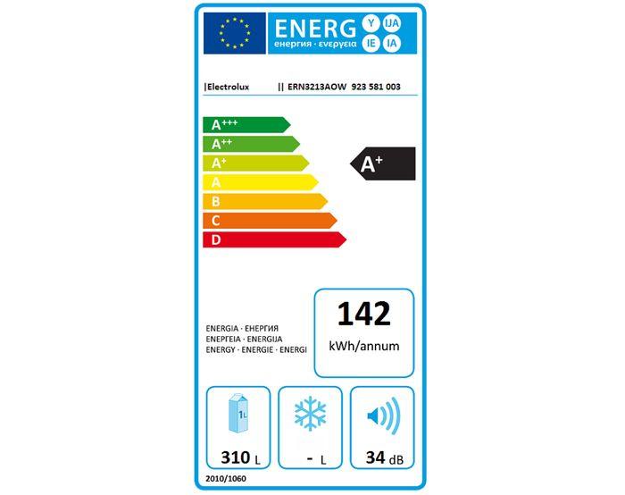 Electrolux ERN 3213AOW energetický štítok