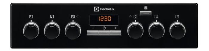 Electrolux EKC54952OK PlusSteam ovládací panel