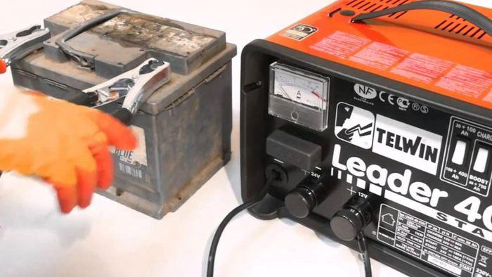Telwin Leader 400 Start nabíjanie autobatérie
