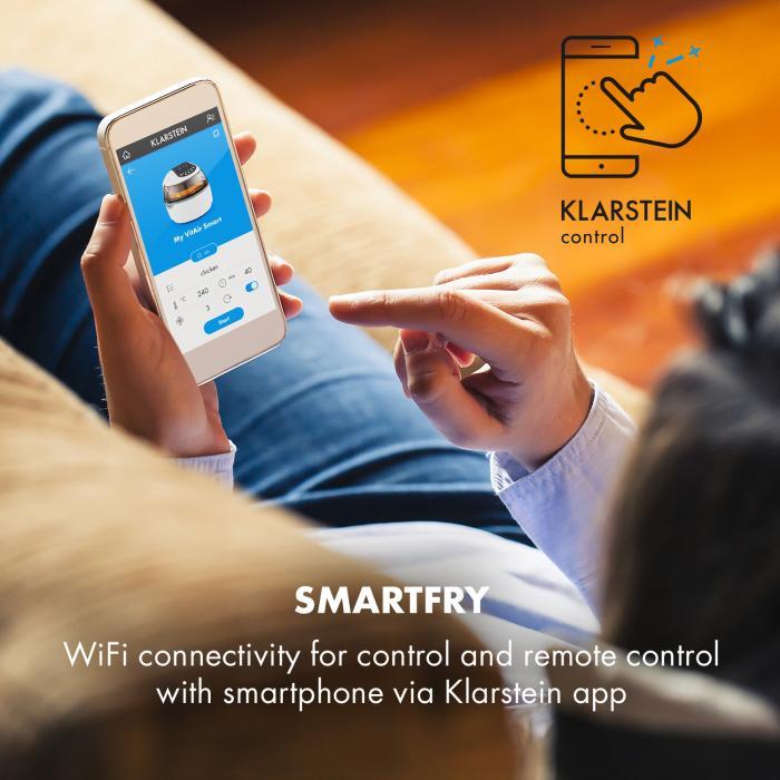 Klarstein VitAir Turbo Smart ovládanie cez WiFi