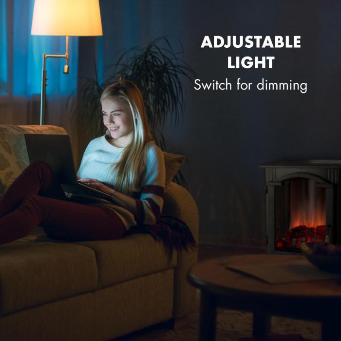 Klarstein Graz regulovateľné svetlo