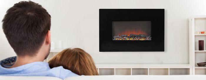 Nástenný elektrický krb G21 Fire Classic slúži aj ako dekorácia