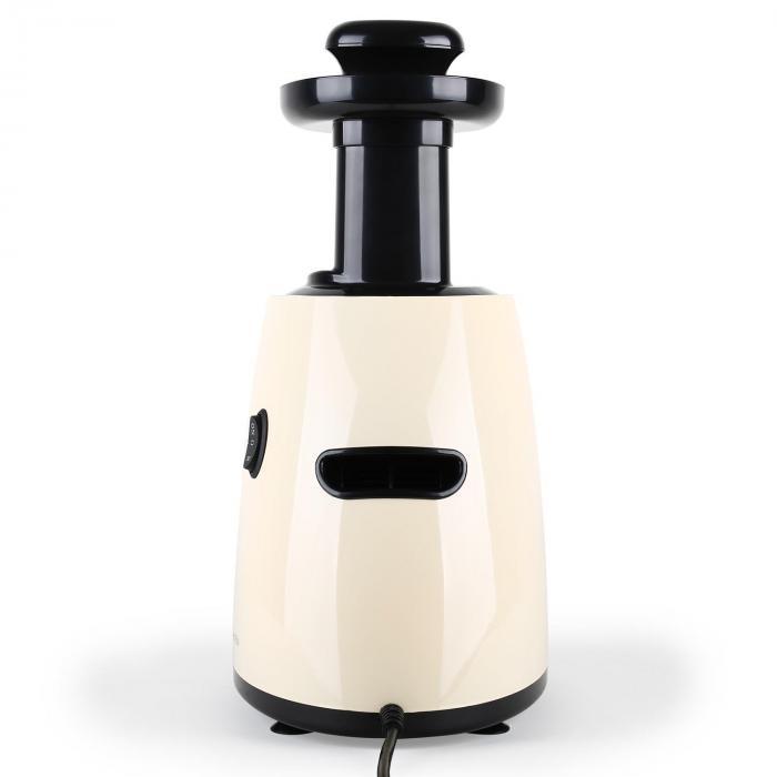 Odšťavovač Klarstein Fruitpresso s futuristickým dizajnom