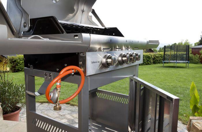 G21 California BBQ Premium line s plynovou hadicou