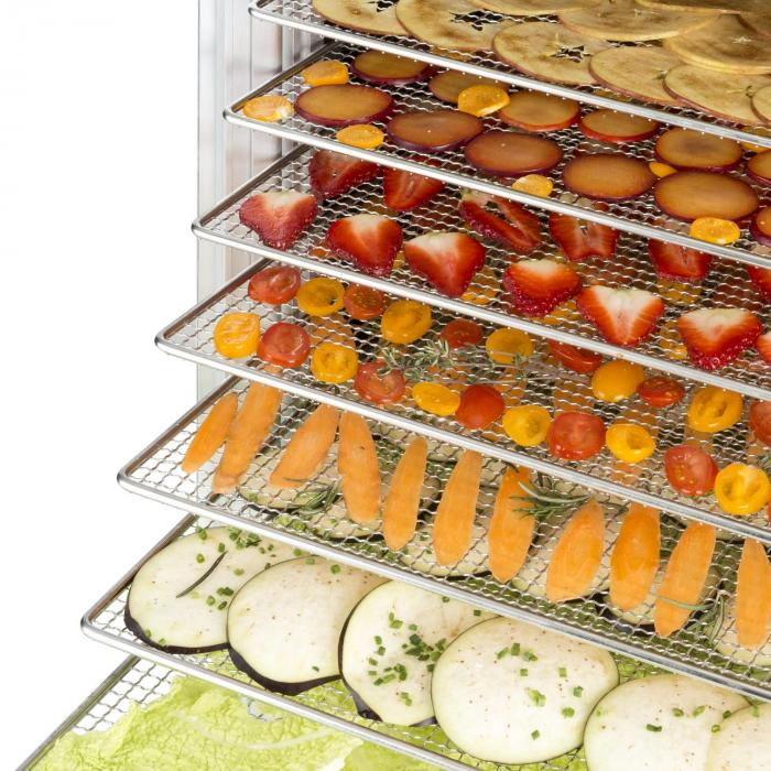 Sušenie potravín v Klarstein Fruit Jerky 18