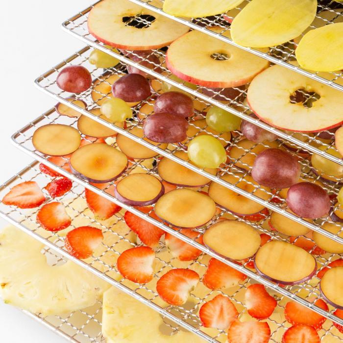 Klarstein Fruit Jerky Plus 6 mriežky na sušenie ovocia