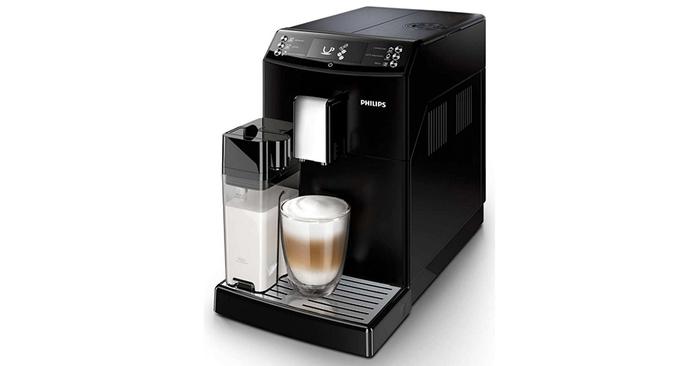 Automatický kávovar Philips Saeco EP 3550/00 disponuje tryskou na mlieko