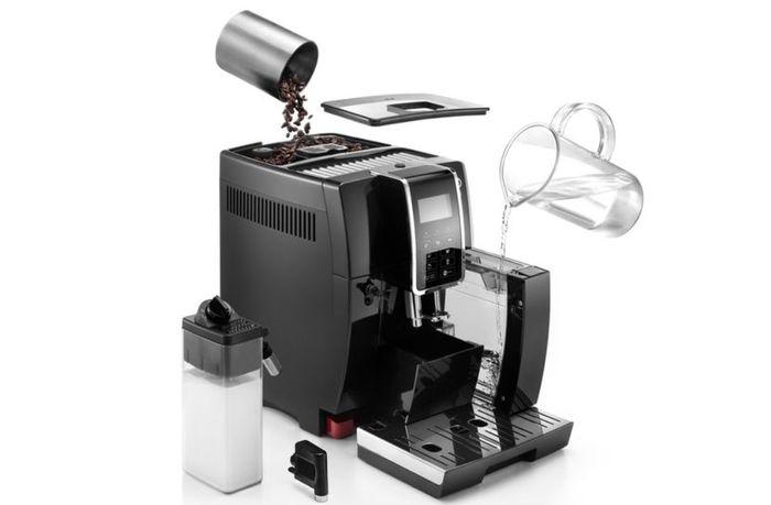Používanie automatického kávovaru DeLonghi ECAM 350.55.B