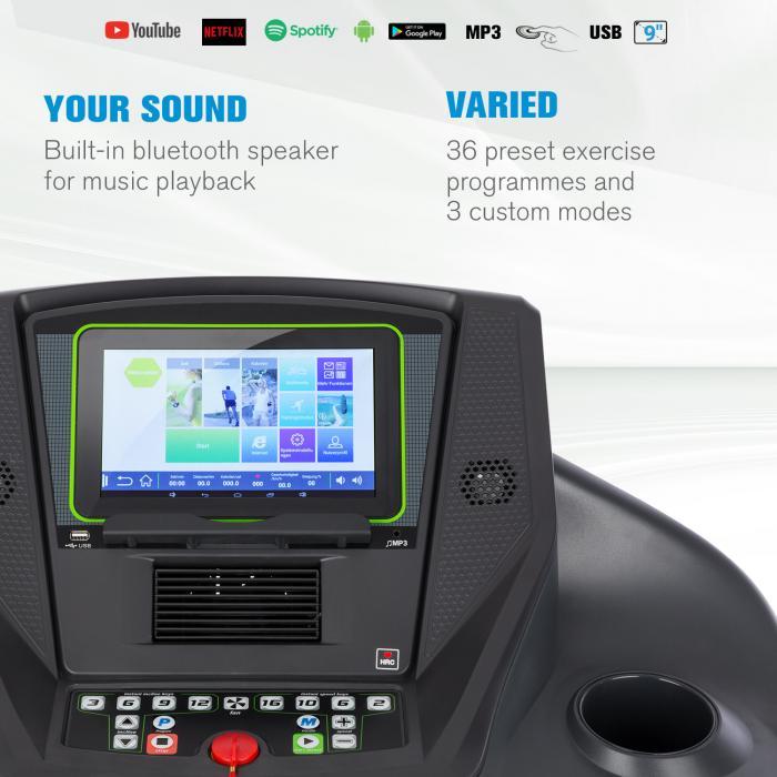 WiFi pripojenie bežeckého pásu Infinity Track 6.0 Touch