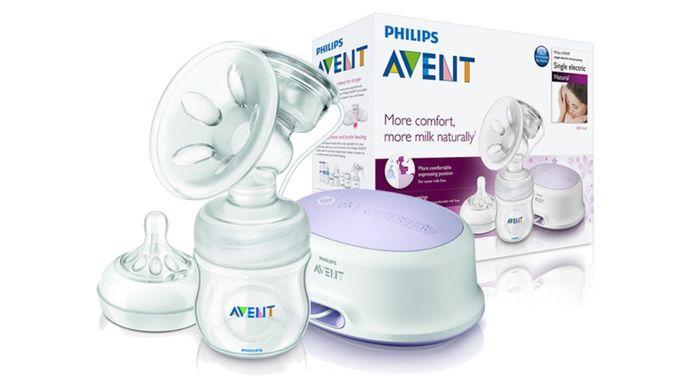 Elektrická odsávačka mlieka Philips Avent Natural balenie