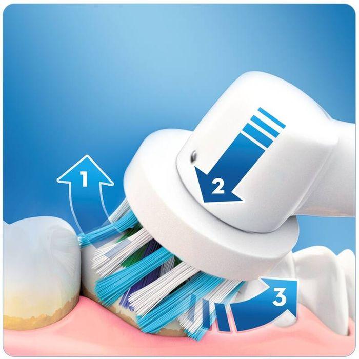 Čistenie zubov s kefkou Oral-B Genius Series 8900 Cross Action