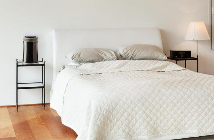 Klarstein Arosa umiestnená v spálni