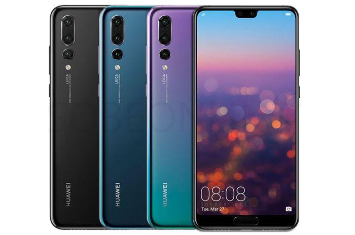 Fotomobil Huawei P20 Pro 6 GB/128 GB Dual SIM v rôznych farebných prevedeniach