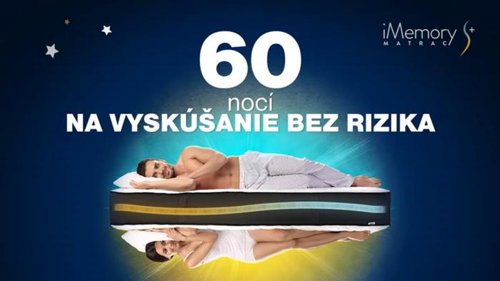 Dormeo iMemory S Plus 60 dní na vyskúšanie