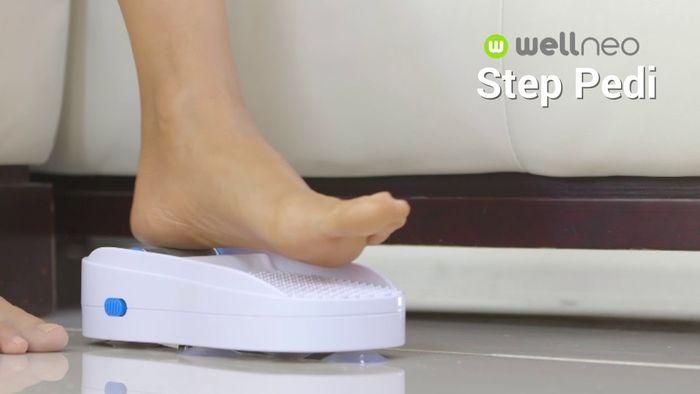 Pilníkovanie nôh s Wellneo Step Pedi