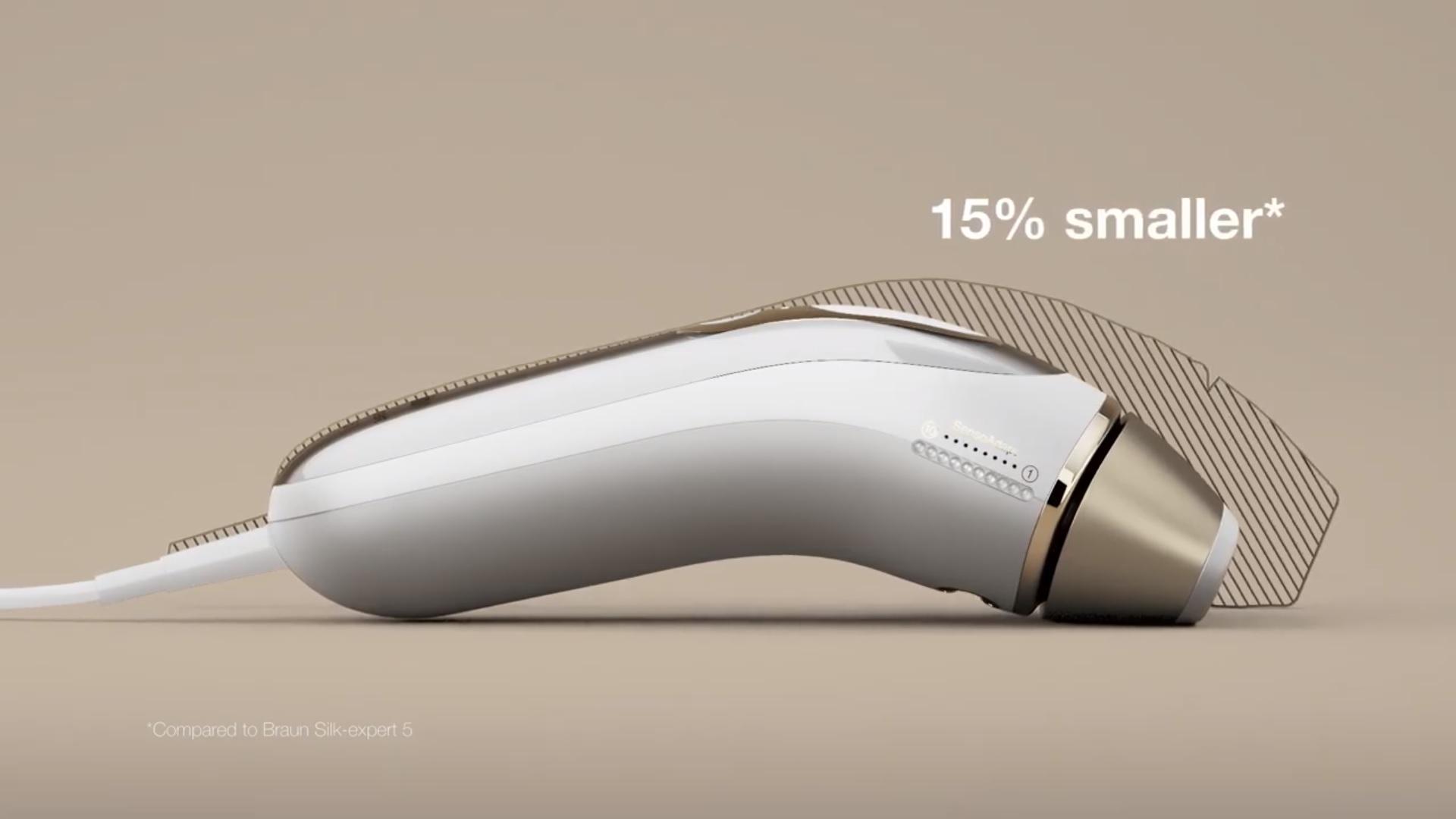 Braun Silk-expert Pro 5 PL5014 IPL veľkosť