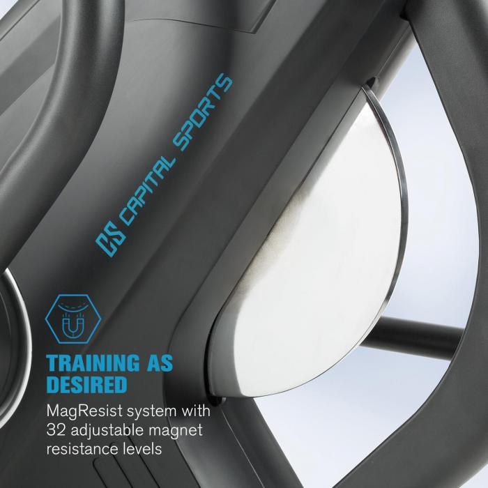 32 úrovní magnetického odporu eliptického trenažéra Helix Star MR