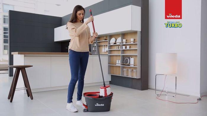 Mop a vedro Vileda Easy Wring & Clean Turbo