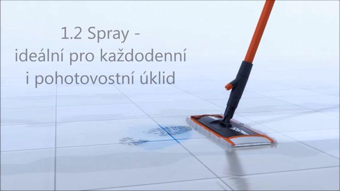 Vileda 1.2. Spray mop recenzia