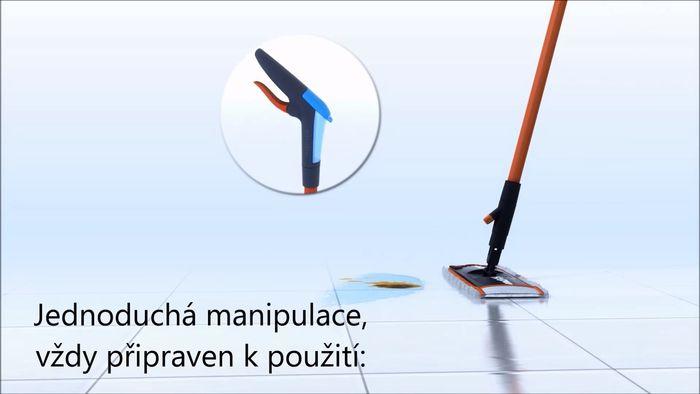 Vileda 1.2. Spray mop ovládanie