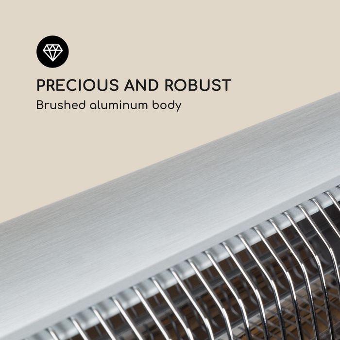Blumfeldt Rising Sun Zenith má telo z hliníka