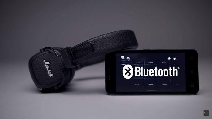 Marshall Major III Bluetooth pripojenie
