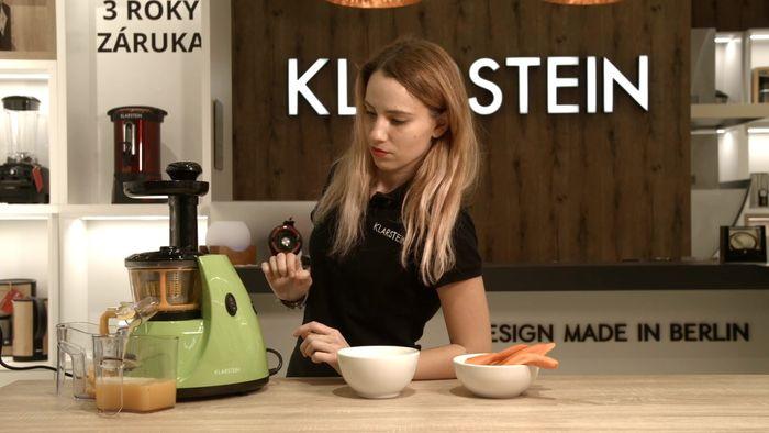 Klarstein Fruitpresso v zelenej farbe