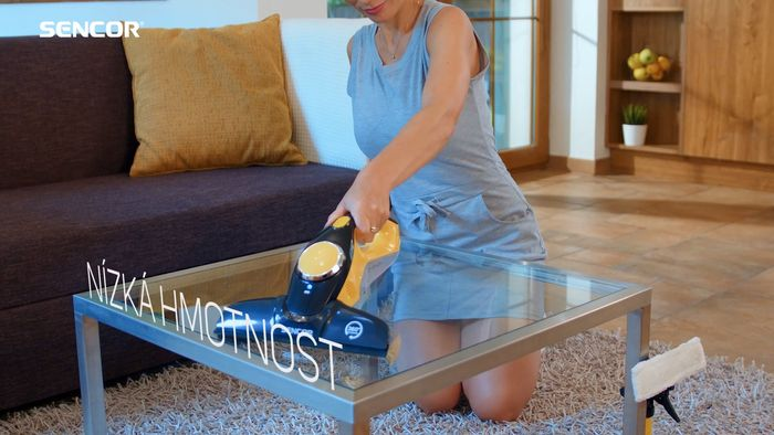 Sencor SCW 3001YL čistenie skla