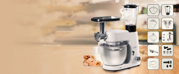 Kuchynský robot Orava Chef recenzia