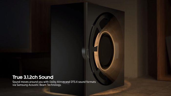 Samsung HW-Q70R Dolby Atmos zvuk
