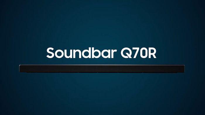 Soundbar Samsung HW-Q70R recenzia
