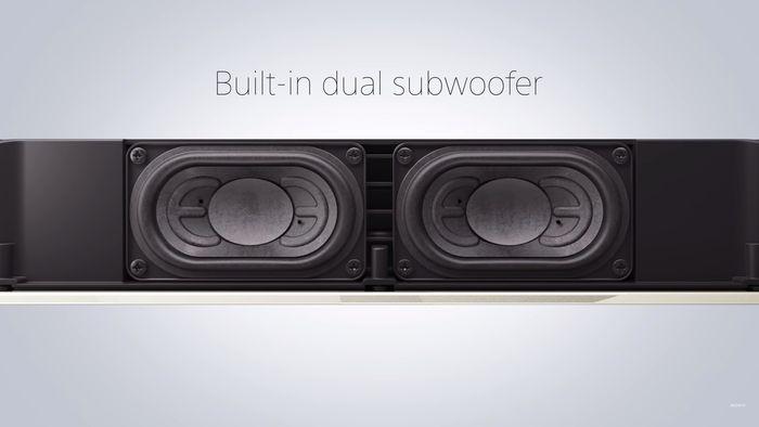 Soundbar Sony HT-X8500 so zabudovaným subwooferom