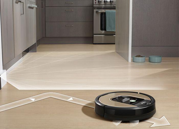 Senzory robotického vysávača iRobot Roomba 966