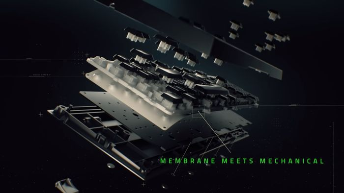 Herná klávesnica s podsvietením Razer Ornata Chroma