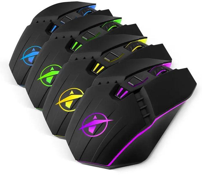 Farebné prevedenia hernej myši Niceboy ORYX M200