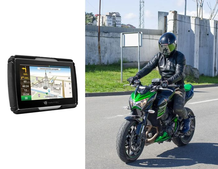 GPS navigácia Navitel G550 na motorku a do auta