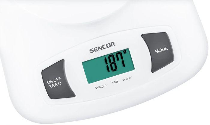 Displej kuchynskej váhy Sencor SKS 4001