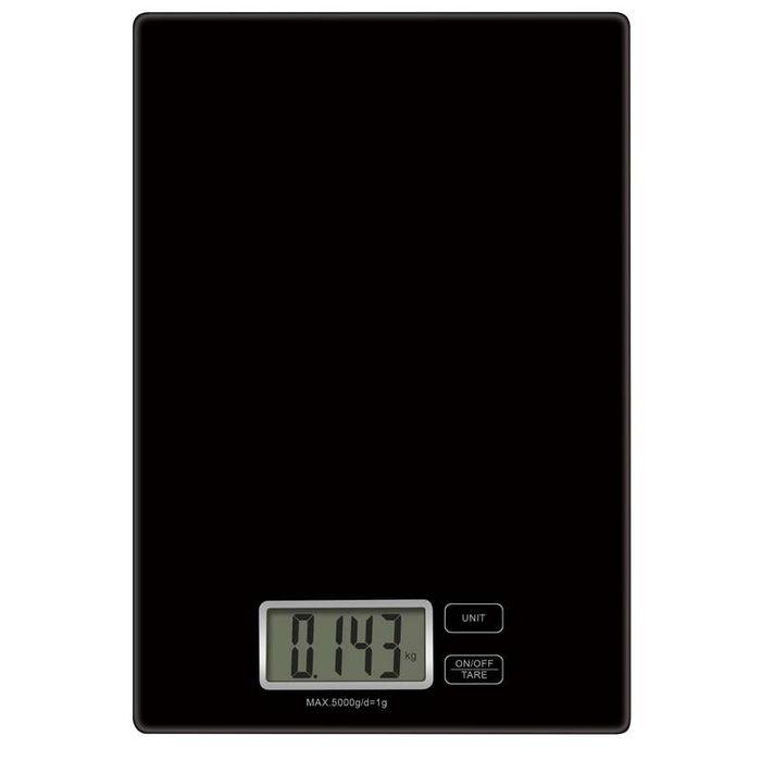 Kuchynská váha Emos EV003 v čiernom prevedení