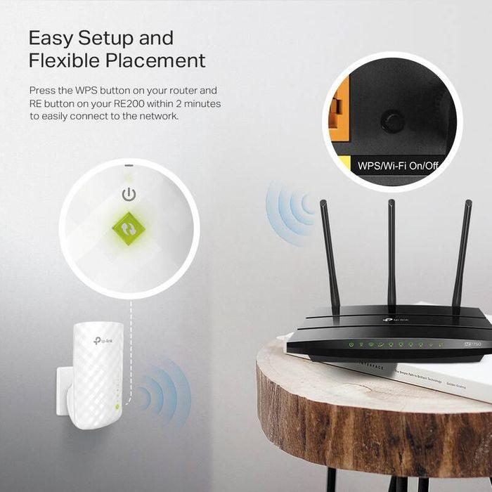 WiFi extender TP-Link RE200 recenzia