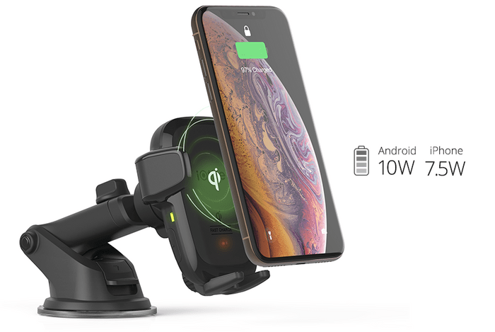 Držiak na mobil do auta iOttie AutoSense Wireless Dash Mount recenzia
