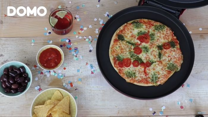 Domo DO9177PZ príprava pizze