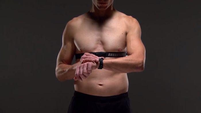 Garmin HRM-Dual spárovanie s hodinkami