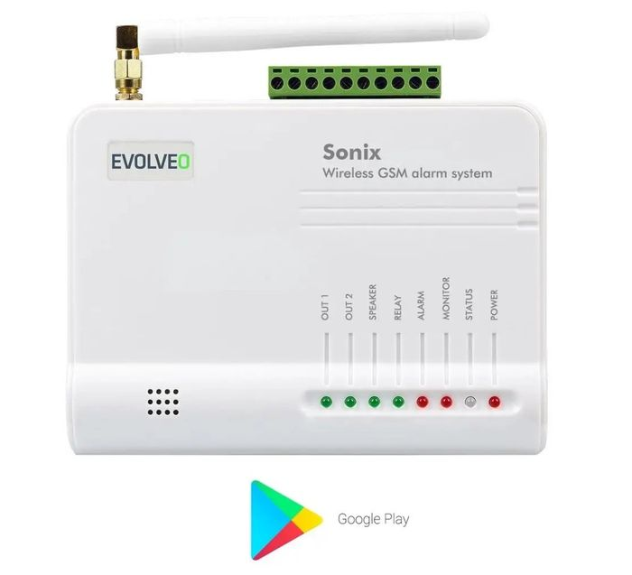Evolveo Sonix alarm s Wi-Fi