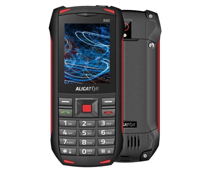 Odolný telefón Aligator R40 eXtremo recenzia